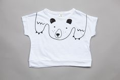 Mini Dressing Bear t-shirt. www.lublue.co.uk