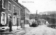 Namur (Malonne) - Rue du Rivage vers 1920