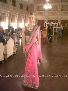 Scarlet Bindi - South Asian Fashion: Naomi Campbell's Indian Birthday Bash