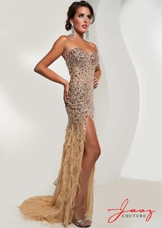 Jasz Couture - 4826 - All Dressed Up, Prom Dress