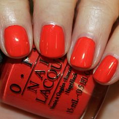 My Paprika is Hotter Than Yours! - OPI Euro Centrale collection, swatches courtesy of vampyvarnish.com