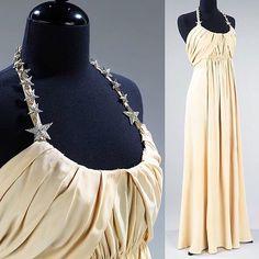 Evening dress, by Madeleine Vionnet, 1938. Metropolitan Museum of Art