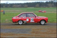 https://flic.kr/p/bJQzLM | #10 Mike Horne & Robbie Mitchell | Charterhall Rally Stages