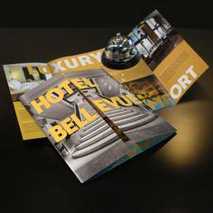 Gate Fold Brochure Printing   UPrinting.com
