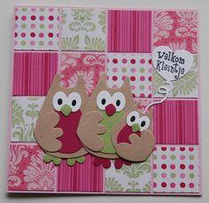 Tilda Fruitgarden, Marianne Design, babykaart