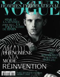 Jamie Bell Vogue Hommes International Paris  well Billy Eliot still doesn't disappoint!!!! :)