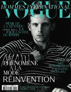 Jamie Bell Vogue Hommes International Paris