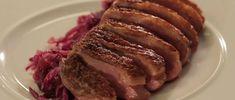Pečená kachní prsa s červeným zelím Food 52, Meatloaf, Pork, Chicken, Kale Stir Fry, Pork Chops, Cubs