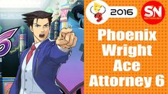 SN E3 2016: Gameplay Pheonix Wright 6: Spirit of Justice