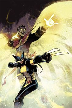 All-new Wolverine and Doctor Strange