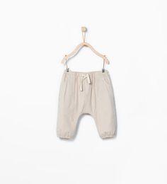 Pantalón bolsillos-Pantalones-MINI | ZARA España