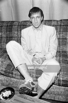 British rock group The Who in Toronto Canada Guitarist Pete Townshend December 1982 The Who Guitarist, Kenney Jones, The Who Live, Club Usa, John Entwistle, Living In Amsterdam, Pete Townshend, Roger Daltrey, British Rock