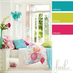 Color Schemes | bright-bedroom-color-scheme