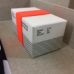 "Box by box — Manufactured ""Neubau Gruppenübung/Group Exercise"" mounted in TS 1-26 Box #nbakademie #limitededition #neubauedition #neubauberlin"