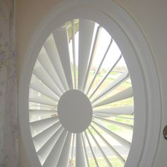 How To Make A Beautiful Covering For A Round Window