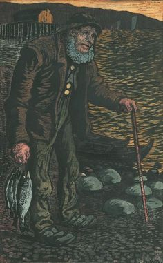 ☆ The Fisherman :→: Artist Nikolai Astrup ☆