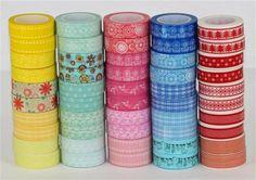 washi tape - fabulous colours www.craftqueen.com.au