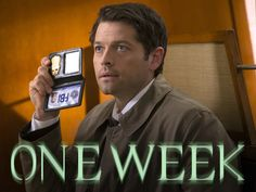 Castiel is back on the case in ONE WEEK when Supernatural returns for its final 6 episodes of the season! Supernatural Destiel, Castiel, Supernatural Episodes, Winchester Boys, Winchester Brothers, Live Love, My Love, Goofy Pictures, Losing People