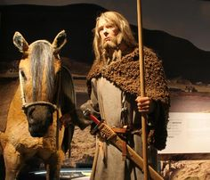 Viking and his horse. http://guthbrand.tumblr.com/image/118792486023