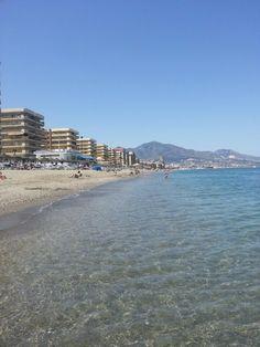 Playa de Fuengirola paikassa Fuengirola, Andalucía