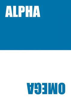 Alpha Omega | 180° | Echte Postkarten online versenden | MyPostcard.com