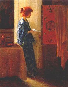 John Rich, The Blue Kimono
