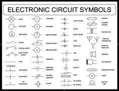 Electrical Wiring Diagrams Symbols Chart Diagram Cool
