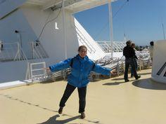Weiße Nächte im Nordland. Kreuzfahrt mit  der Mein Schiff. Sibylle Georgi