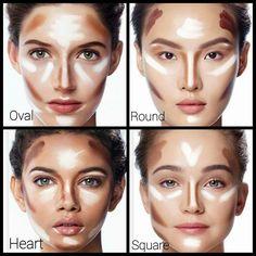 Lip contouring tip for fuller lips . - Make up hacks - - Lip contouring tip for fuller lips … – Make up hacks Beauty Tipps – Konturierung Konturierung Best Contouring Products, Makeup Contouring, Makeup 101, Highlighter Makeup, Contouring And Highlighting, Makeup Inspo, Beauty Makeup, Makeup Looks, Eye Makeup