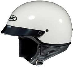 Available from HelmetCity.com, the HJC CS-2N Helmet #motorcycle (White) can brave any riding conditions. The HJC CS-2N Helmet (White) #helmet is characterized by bold design and rugged construction.