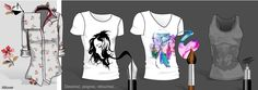 """MY CREATIONS ARE LIMITLESS  """"Create your patterns, and allover print in bitmap or vector.  Incorporate them easily into your clothes """""""