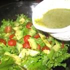 Cilantro Lime Dressing.  Amazing dressing!!! I use it in my burritos instead of salsa and you can't help licking your fingers!