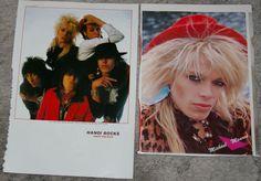 MICHAEL MONROE + Hanoi Rocks Clippings incl Japanese 1980s in Entertainment Memorabilia, Music Memorabilia, Rock & Pop | eBay!