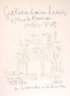 Picasso, Galerie Louise Leiris