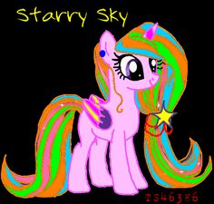 Starry Sky is Moona Starlight and NightFall's older sister. By @TS46386 for @Foxy1999