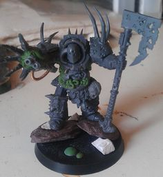 RedTerror Returns, and brings the Death Guard