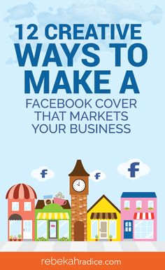 Looking to visually market your Facebook page? Want to promote your product or service? Here's how to make a Facebook cover that markets your business! Social Media Marketing Business, Facebook Business, Facebook Marketing, Marketing Plan, Internet Marketing, Online Marketing, Digital Marketing, Marketing Quotes, Online Business