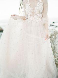 Gorgeous ethereal wedding dress