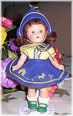 Painted Lash Walker Ginny Dolls
