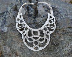 CORDELIA Bohemia collar corte del Laser de por ShopElenaDesigns
