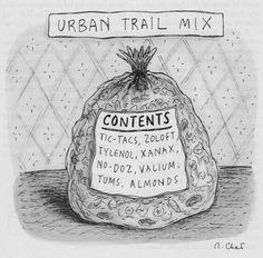 DAVID WASTING PAPER: Roz Chast - Cartoonist Survey #