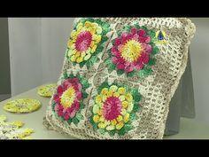 Vida com Arte   Bolsa em crochê por Marta Araújo - 12 de fevereiro de 2016 - YouTube