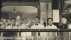 Carlton Bar, Cannes en 1950