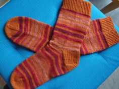 Yarn Therapy: The socks The track heads it behind