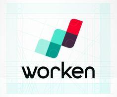 Identidade Visual da Worken   Criatives   Blog Design, Inspirações, Tutoriais…
