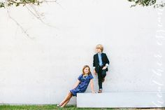 Brother and sister children photography by: Heather Essian
