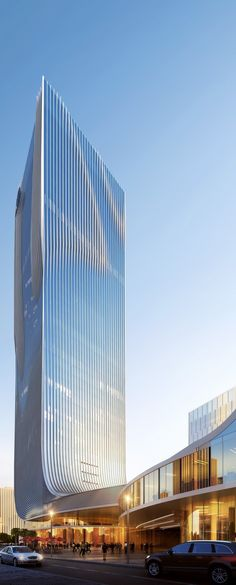 World of Architecture: Impressive Fangda Business Headquarters | #worldofarchi #architecture #modern #China #building #skyscraper #highrise