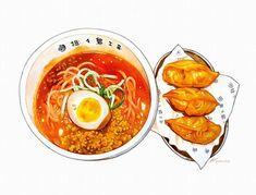 Food Art, A Food, Food And Drink, Food Illustrations, Illustration Art, Goblin Art, Comic Tattoo, Food Cartoon, Food Stickers