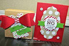 Get Crafty with Lisa:  No Peeking Gift Box & Card