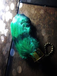 Lucky Green Rabbit Foot: In some cultures, the foot of a rabbit is carried as an amulet believed to bring good luck. This belief is held by individuals in a great number of places around the world including Europe, China, Africa, and North and South America. It is likely that this belief has existed in Europe since 600 BC amongst Celtic people.